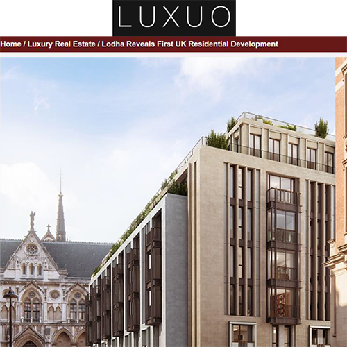 Lodha in LUXUO