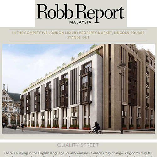 Lodha in Robb Report