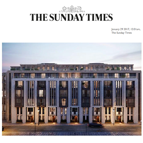 Lodha in the Sunday Times